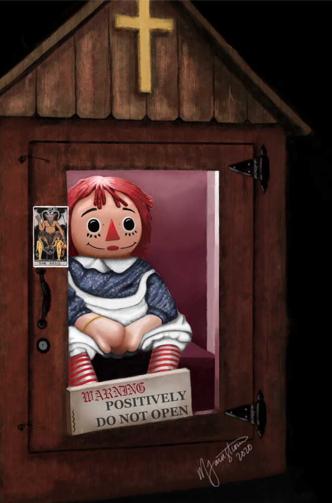 """""""The Annabelle Doll"""" by Mary Farnstrom"""